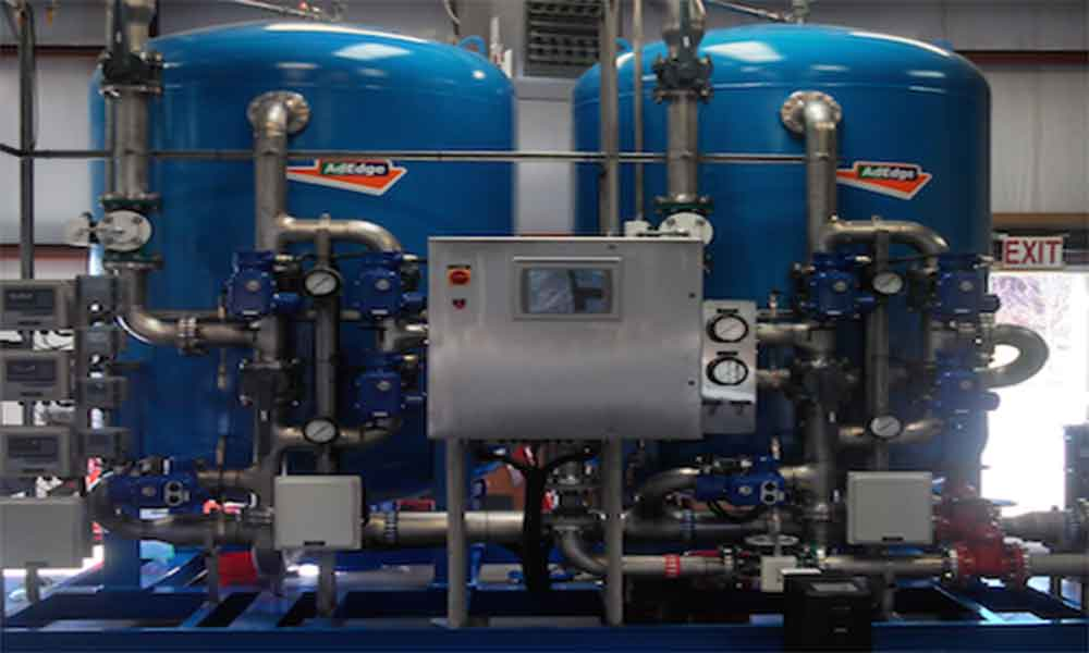 Water treatment system in Roswell, GA